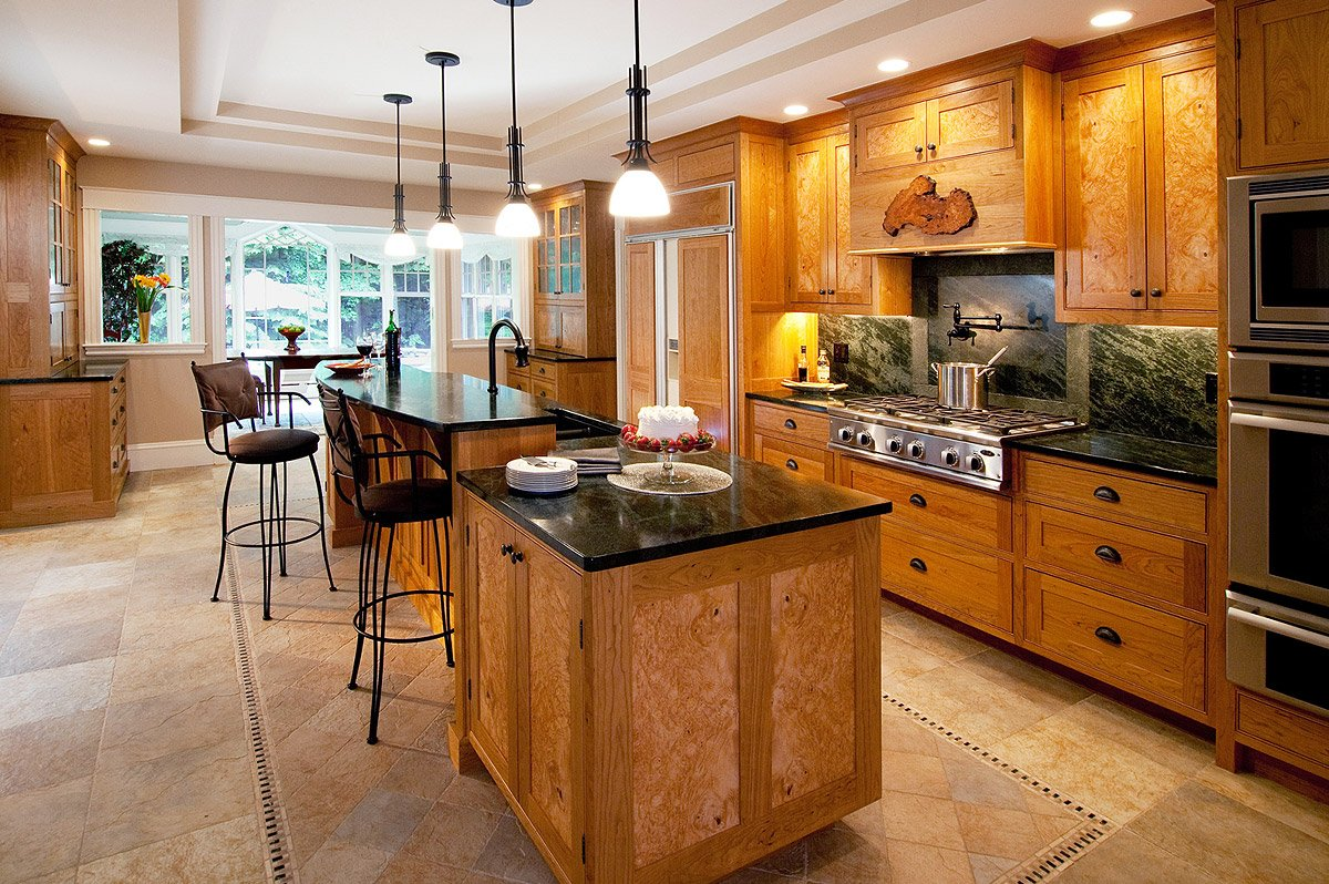 Kitchens - Freeport Woodworking